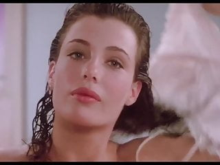 Kelly LeBrock Woman In Red Side Boob Hairy Pussy Flash